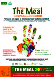 affiche the meal 2017