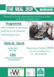 affiche THE MEAL Bdi 2021